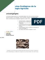 Los Impactos Ecológicos de la Biotecnología Agrícola