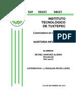 III UNIDAD AUDITORIA DE LA FUNCION INFORMATICA TEC DE TUXTEPEC