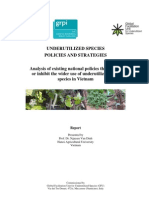 Underutilized Species Policies and Strategies Vietnam Lr