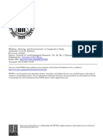 BINFORD_Mobility, Housing, And Environment, A Comparative Study