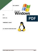 Windows 7 y Linux