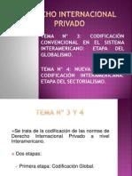 TEMAS 3 y 4. Globalismo- Sectorialismo