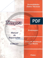 Manual de Reparaciones - Fiat Tempra