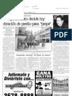 13-12-2006 Ayuntamiento decide hoy donación de predio para 'prepa'