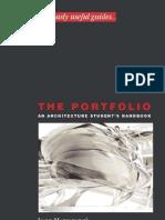 [Architecture eBook] the Portfolio - An Architecture Student's Handbook