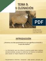 Tema 9 La Clonacixn