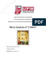 EMG3402 Qualitative Mini Project - 3 Idiots Movie Analysis