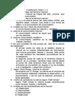 Cuestionario Clase 1 y 2