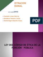 LEY DEL CÓDIGO DE ÉTICA DE LA FUNCIÓN greys (1) (1)
