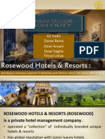 rosewood hotels and resorts branding to increase customer profitability and lifetime value Case study rosewood hotels & resorts sonja d of customer lifetime value (clv) in the rosewood establish 'rosewood' as a true brand and.