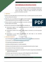 Cementacion Primaria en Multiples Etapas