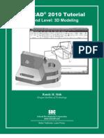 AutoCAD 2010 Tutorial Second Level 3D Modelling