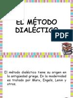 EL MÉTODO DIALÉCTICO