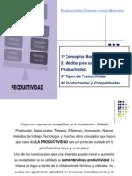 06 Clase - Productividad
