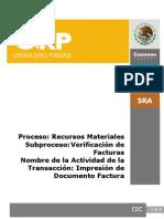 MR90 Impresion Del Documento de Factura (MIRO)