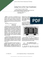 Precomissioning Test Drytype