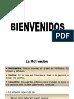 Presentacion. Motivación. Comunicación y cambio en la Organización