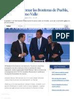 01-11-12 E-consulta - Necesario Reforzar Las Fronteras de Puebla, Asegura Moreno Valle