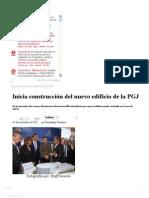 01-11-12 Sexenio Puebla - Inicia construcción del nuevo edificio de la PGJ