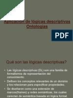 Aplicación de lógicas descriptivas Ontologías