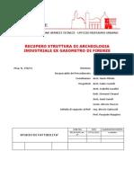 Firenze-gasometro Studio Di Fattibilita