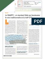Le WebRTC