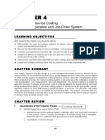 CHAPTER 4 Product and Service Costing