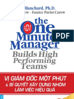Vị giám đốc một phút và xây dựng nhóm làm việc hiệu quả - Ken Planchard, Donald Carew, Eunice Parisi-Carew.pdf