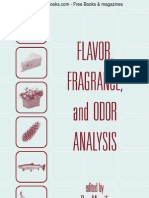 Flavor, Fragrance & Odor Analysis