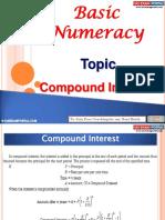 Basic Numeracy Compound Interest