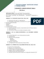 1 M HG y CS Programa 2012