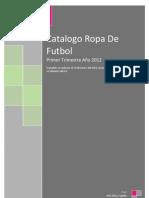 Catalogo Ropa de Futbol 2012