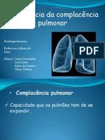 apresentação de fisiologia complacência pulmonar (1)