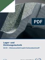 Schunk SiC30 Siliziumcarbid Graphit Verbundwerkstoff
