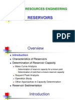 Reservoirs 1