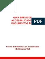 Accesibilidad en PDFs