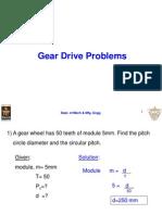3B)Gear Problems