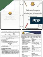 Conteudos de Prova - 4 Bim 2012