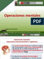 1 Operaciones mentales