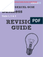 Edexcel Business Studies GCSE Revision Guide & Workbook Sample