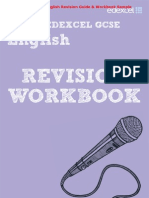 Edexcel English GCSE Revision Guide & Workbook Sample