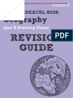 Edexcel GCSE Geography Specification B Revision Guide & Workbook Sample