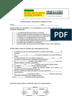 Examen Materia y Cambios de Estado - Copia