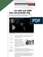 2012.09.07 20Minutes Kyasma Colle Une Baffe
