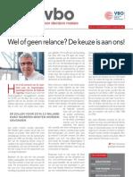 Wel of geen relance? De keuze is aan ons!, Infor VBO 35, 15 november 2012
