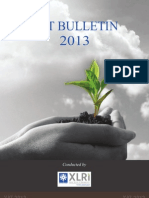 XAT Bulletin 2013