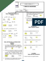 Examen Semanal 1 1 Secundaria II Bimestre