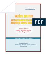 Revised Edition- Spiritual Qualities of the Professional in Humanistic Social Work, Calitatile Sufletesti Ale Profesionistului in Asistenta Sociala Umanista, Petru Stefaroi