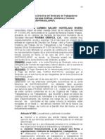 Bono Sindical Criterio Juridico 2012