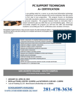 PC Support Technician A+ Certification